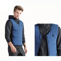 Manufacturer Men's Packable Down Sleeveless Coat Heated Vest 5V