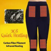 Mens Womens Winter Warm Keeper Self Heating Pants Trouser