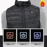 New Winter Man Woman Fashion Usb Interface Electric Heated Inner Vest Heating Sleeveless Heating Vest