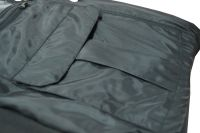Mens Heated Fleece Hoodie Jacket, Customized Heated Bomber Jacket