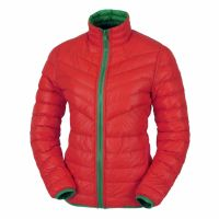 Ladies Nylon Padded Jacket Outdoor Light Weight Down Jacket For Motorcycle Riding