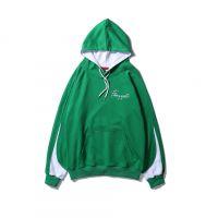 Harajuku Color Block Patchwork Print Pullover Thin Hooded Sweatshirts Hoodies Streetwear Hip Hop Fashion Casual Tops