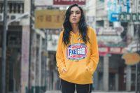 Men Streetwear Patchwork Funny Hoodies 2019 Mens Hip Hop Oversized Hoodie Male Korean Harajuku Hooded Hoodie Plus Size