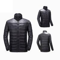 Fashionable Winter Warm Windbreaker Outdoor Down Jacke for Men Logo Customized