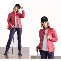 Womens Nylon Puffer Jacket Ultralight Outer Wear Coat Winter Clothing