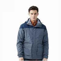 High Quality Heavy Duck Down Feather Jacket Mens Winter Fashion Outdoor Jacket