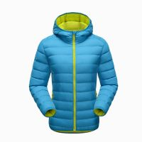 Men's Hooded Padded Jacket Quilted Coat Color Customized Jacket