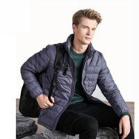 Factory Direct Mens Quilted Jacket Colore Customized