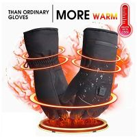 Winter Warm Gloves 3 Control Level Battery Power Electric Heated Hand Gloves