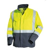 Class 3 Safety Uniforms Hi Vis Mens Reflective Work Jacket