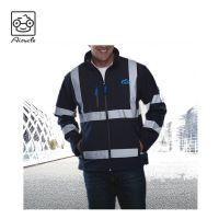 EN20471 High Quality Reflective Men's ANSI Class 3 Waterproof Parka Jacket For Work