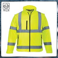 Class 3 Safety Uniforms Hi Vis Mens Reflective Work Jacket