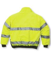 High Visibility Reflective Safety Jacket Waterproof Work Wear