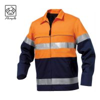 Safety Reflective Class 3 Parka Jacket For Work Wear