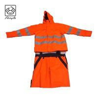 EN20471 Hi-Vis 3M Reflective Jacket Waterproof Windproof Safety Jacket