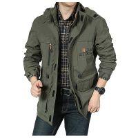 2019 Autumn Winter Men's Casual Hardshell Jacket Outdoor Waterproof Windbreaker Jacket Quick-dry Climbing Suit