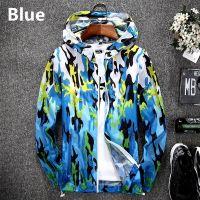 Autumn Mens Camo Outdoor Hunting Jacket Lightweight Windbreaker Coat
