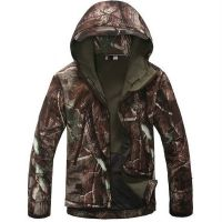Tactical Softshell Camouflage Outdoors Jacket Men Army Sport Waterproof Camping Hunting Clothes Military Jacket
