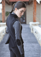 Lightweight Plain Rider's Softshell Vest For Women Equestrian Vest