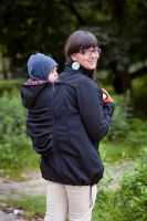 Softshell Baby Carrying Babywearing Jacket