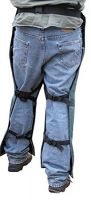 "Chainsaw Apron Chaps with Pocket, Orange 37"" Length"