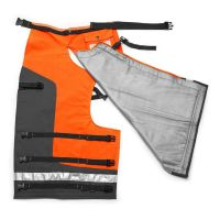 Technical Apron Wrap Chap, 1000 denier polyester with PVC coating, 36 to 38-Inch