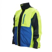 Reflective Safety Workwear Jacket For Heavy Industry Logo Size Color Customized