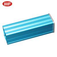 Blue Aluminum PCB Instrument Box Electronic Project Enclosure Case