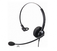 Telephone Headset with QD & RJ-11 for Calling Center