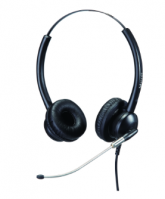 Durable Call Center Headset with Noice Cancellation