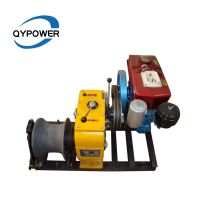 5T Diesel Engine Winch for Tower Erection