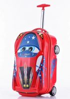 China manufactured children luggage bag cases travel trolley luggage bag