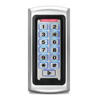 GK28E-W Metal Standalone Door Access Control Device, Card + PIN