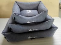 Manufacturer Best Large Luxury Heated Pet Dog Cat Bed