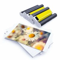 New arrival Canon Selphy Puty 3 ink 108 Card Broad Photo Paper Sheet Compatible KP-108IN