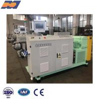 Plastic PVC PS PP PE ABS TPU TPV PPR PEX PERT granules single screw extrude machine extruder