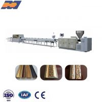 EPS GPPS HIPS PS Foam Photo Frame Production Line Picture profile extrusion line for home decoration