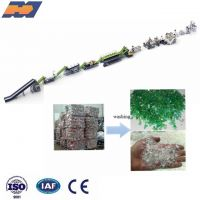 Plastic PP PE PET film bottle dirty waste product recycle washing machine line