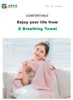 100% Cotton Quick Dry Waffle Microfiber Bath Towel With Custom Logo