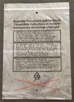 LDPE resealable zipper bag