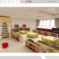 China kids kindergarten school furniture supplier