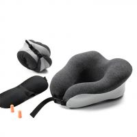 2019 Airplane Best Neck Support Luxury Power Nap travel Pillow For Flight