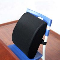 Washable Memory Foam Office Chair Cushion/Back Support Pillow