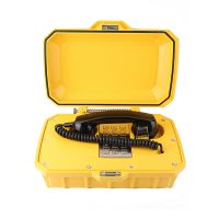 Waterproof track side telephone VOIP corded telephones public telephone