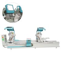 PVC Door Window  Frame  Double Head Precision Cutting Saw Machine