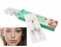 2ml  beauty personal care cross linked derm hyaluronic acid filler injection for treat facial wrinkles and etched furrows