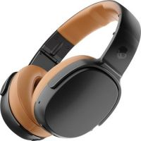Skullcandy Crusher 360 Wireless Over-the-Ear Headphones - Black and Tan