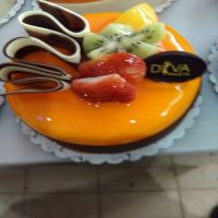 SUDEM ORANGE FLAVORED COLD PASTRY JELLY