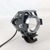2019 hot sales Motorcycle Headlight U7 Angel Eye Headlamp Waterproof with Multi-color Led Light