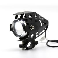 Big promotion 12v aluminium U5 led lamp housing Car lens Light Motorcycle/bike Spot light headlight 10w/5W led car light bulb
